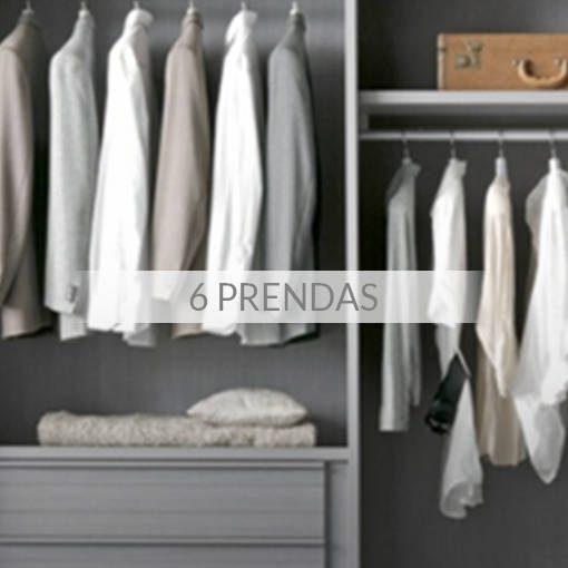 Tintorería - Pack 6 Prendas
