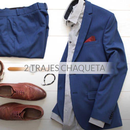 Tintorería - Pack 2 trajes chaqueta