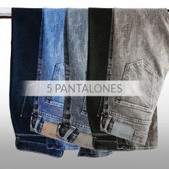 Pack 5 Pantalones